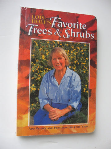 Favorite Trees & Shrubs Book