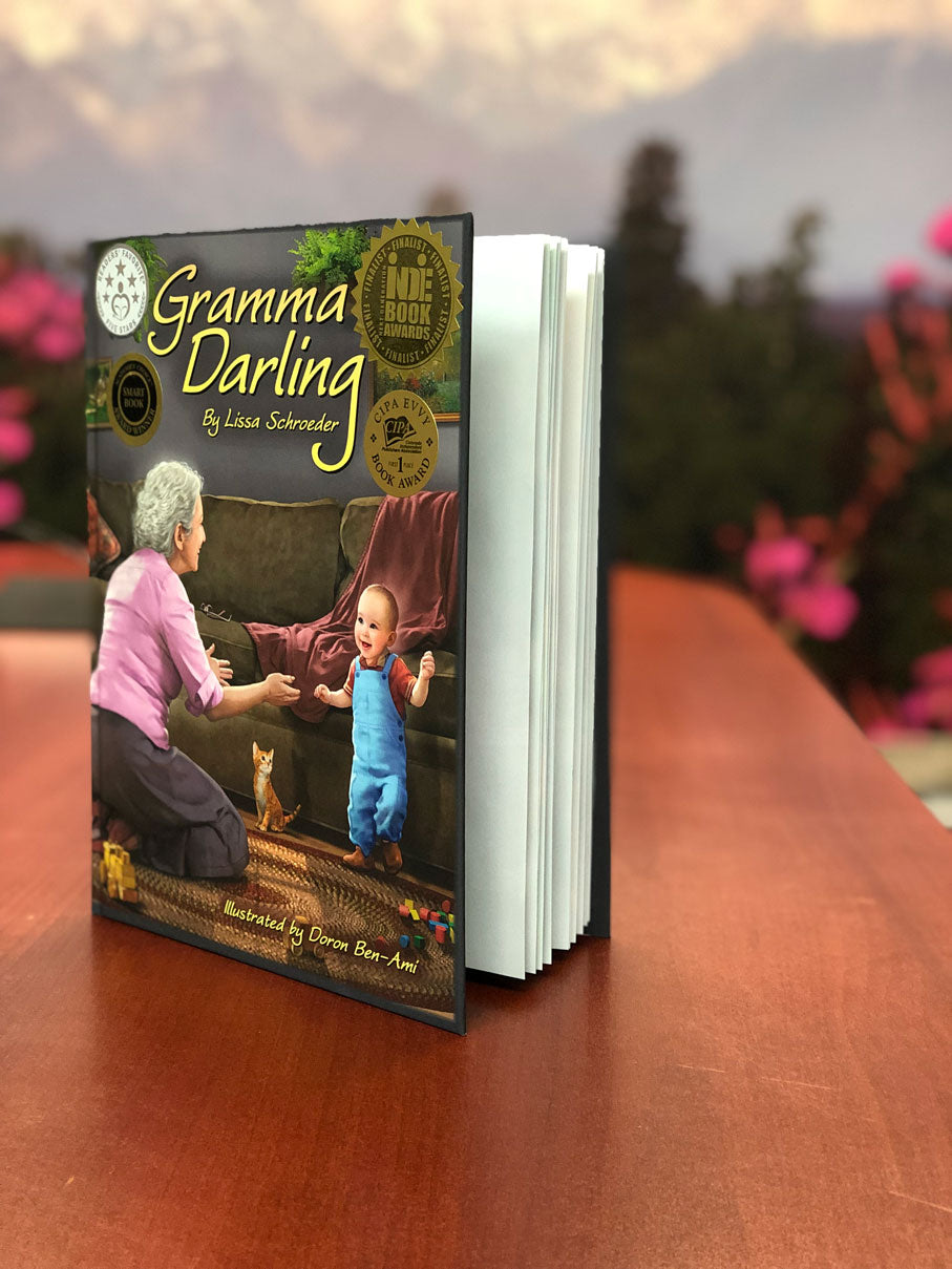 Gramma Darling Book (Signed by Author) + Chocolaty Cherry Cake Recipe