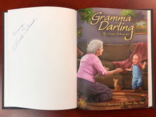 Load image into Gallery viewer, Gramma Darling Book (Signed by Author) + Chocolaty Cherry Cake Recipe