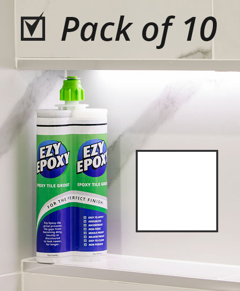 Ezy Epoxy Tile Grout Polar White