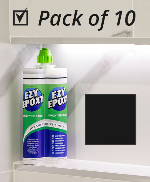 Ezy Epoxy Tile Grout Black