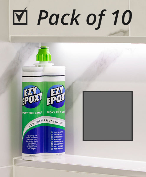 Ezy Epoxy Tile Grout Dark Grey