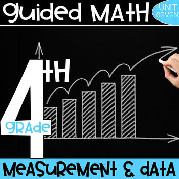 4th Grade Guided Math Unit 7 Measurement and Data – Simply Skilled