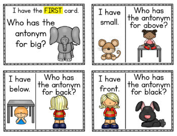 Antonyms Lesson Plan