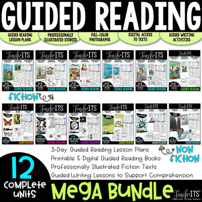 Guided Reading MEGA Bundle VOLUME 1