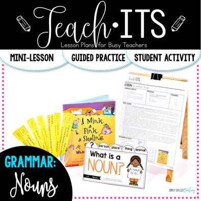 Nouns Lesson Plan