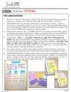 Articles Lesson Plan