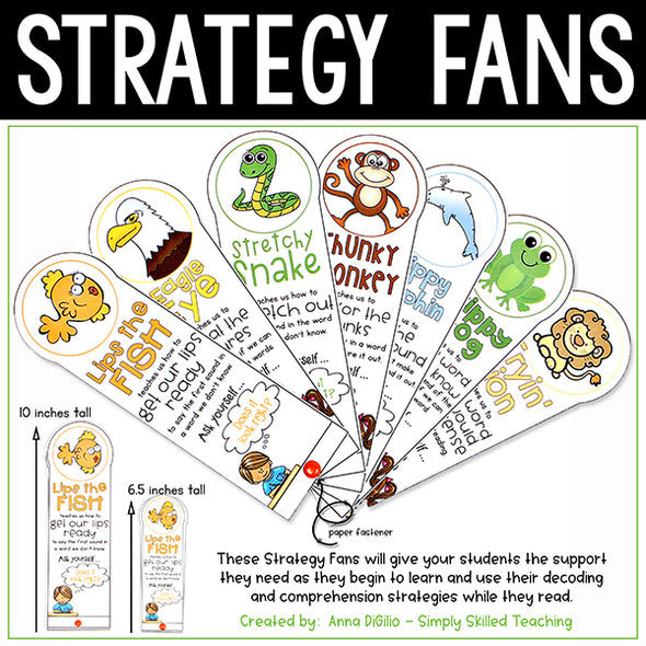 reading strategy fans