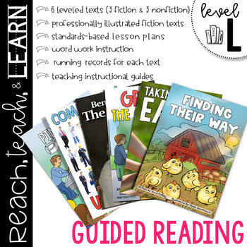 Guided Reading Level L