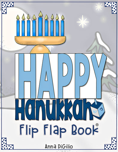 Hanukkah Flip Flap Book® | Distance Learning
