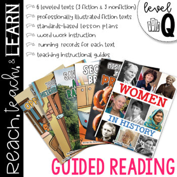 Guided Reading Level Q