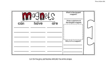 Magnets Flip Flap Book® | Distance Learning