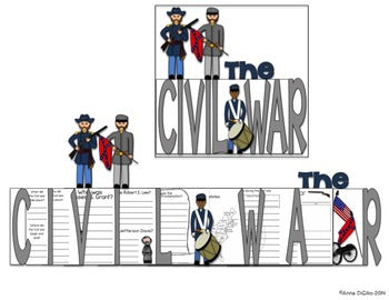 Civil War Flip Flap Book®