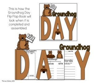 Groundhog Day Flip Flap Book® | Distance Learning