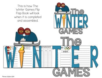 The Winter Games Flip Flap Book®