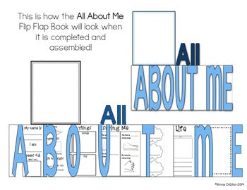 All About Me Flip Flap Book®