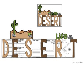 The Desert Flip Flap Book®