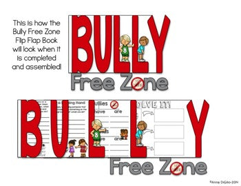 Bullying Flip Flap Book® | Distance Learning