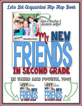 Friends Flip Flap Book® | Distance Learning