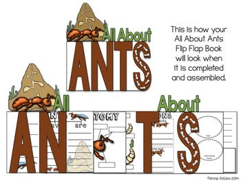 All About Ants Flip Flap Books®