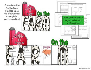 Farms Flip Flap Book® | Distance Learning