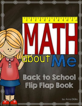 Math About Me Flip Flap Book®