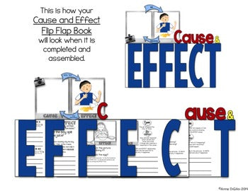 Cause and Effect Flip Flap Book®