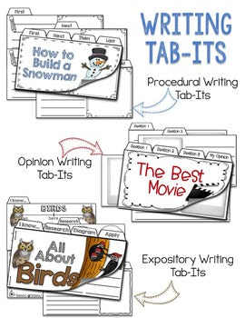 Writing Tab-Its® | Distance Learning