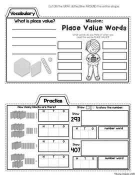 Place Value Math Tab-Its®  (Free)