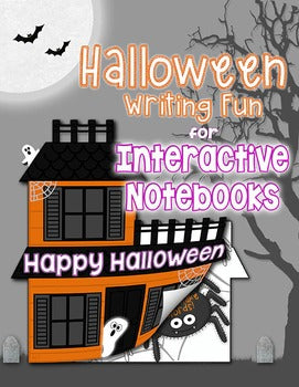 Halloween Writing for Interactive Notebooks