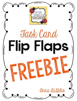 Task Card Flip Flap Book® (Free)