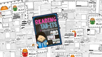 2nd Grade Reading Comprehension Tab-Its®