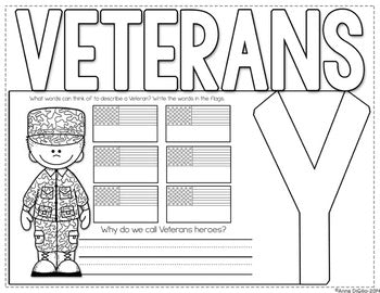 Veterans Day Flip Flap Book® | Distance Learning