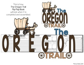 Oregon Trail Flip Flap Book® | Distance Learning