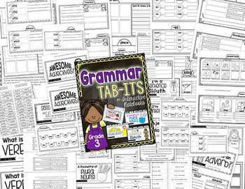 3rd Grade Tab-Its® Bundle | Distance Learning