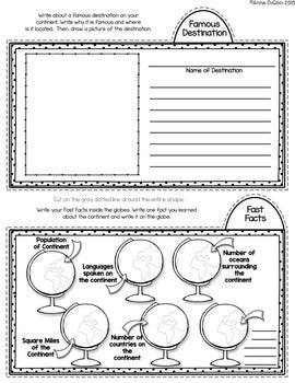 Social Studies Interactive Notebook Tab-Its® (Bundle) | Distance Learning