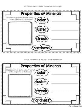 Rocks and Minerals Tab-Its® | Distance Learning