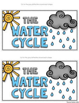 The Water Cycle Tab-Its® | Distance Learning