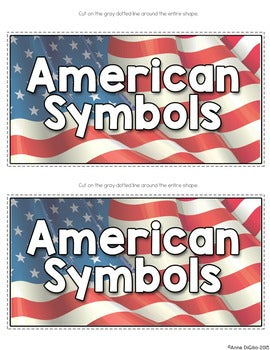 American Symbols Tab-Its® | Distance Learning