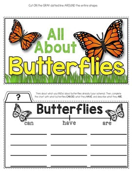 Butterflies Tab-Its® | Distance Learning