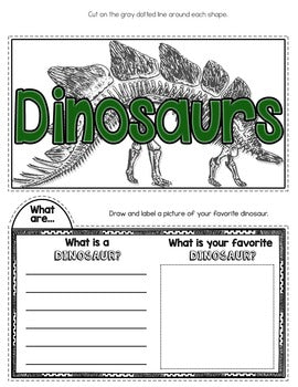 Dinosaurs Tab-Its® | Distance Learning