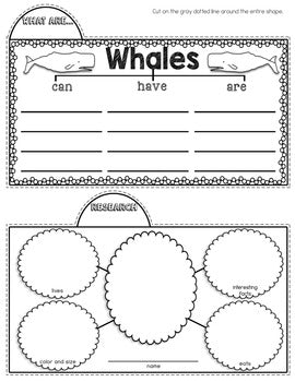 Whales Tab-Its® | Distance Learning