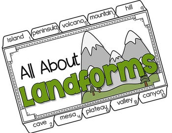 Landforms Tab-Its® | Distance Learning