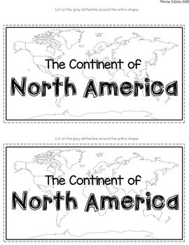 The Continents Tab-Its®