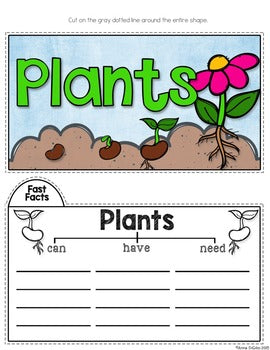 Plants Tab-Its® | Distance Learning