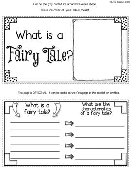 Fairy Tales Folktales Fables Myths Legends and Tall Tales Tab-Its ® | Distance Learning