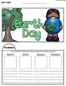 Earth Day Tab-Its® | Distance Learning