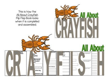 Crayfish Flip Flap Book®
