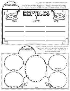 Reptiles Tab-Its® | Distance Learning