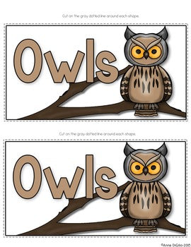 Owls Tab-Its®